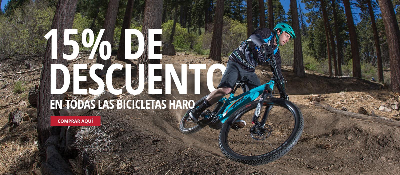Perubikeshop - Haro Bikes MTB Descuento del 15%