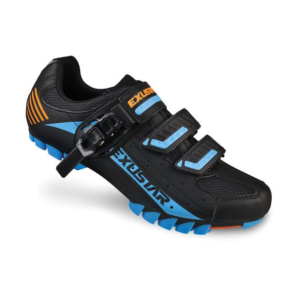 Zapatillas de cycling Exustar SM 308 negro