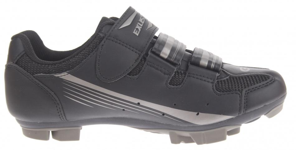 Zapatillas de cycling Exustar SM 3116 negro