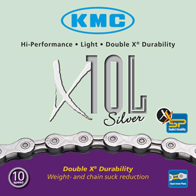 Cadena KMC X10L Silver