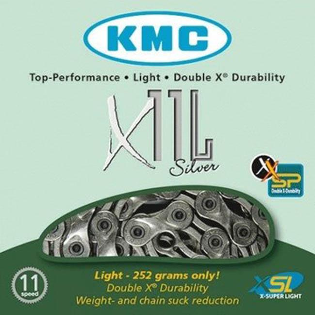 Cadena KMC X11L Silver