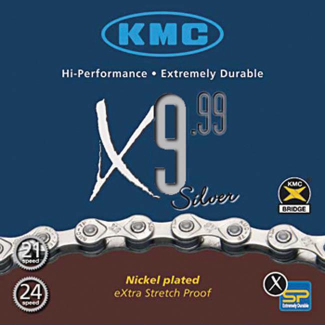 Cadena KMC X9.99 Silver