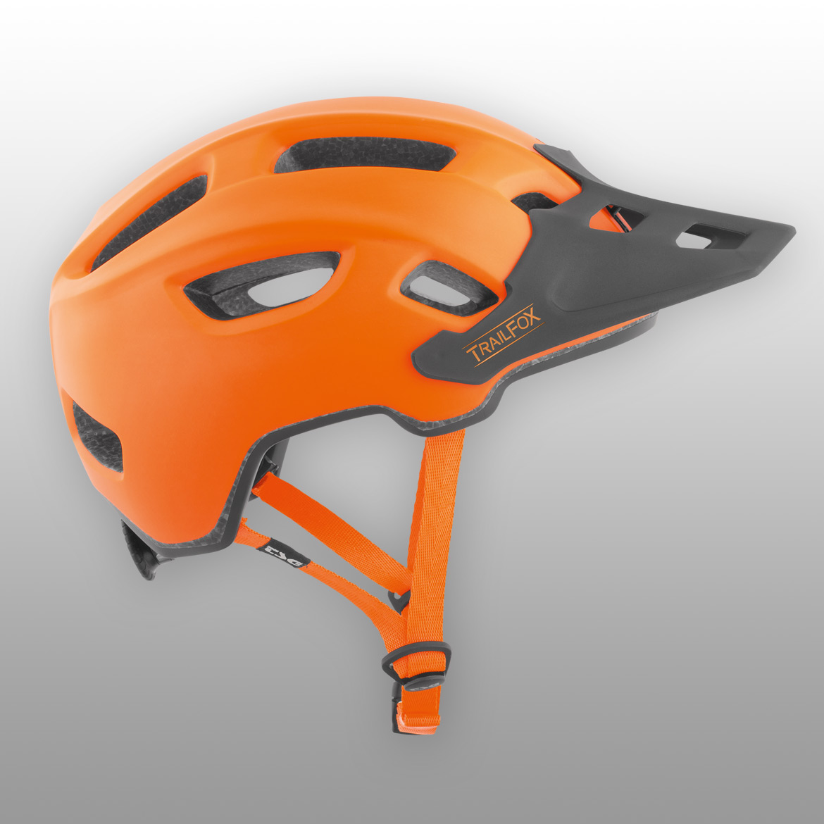Casco TSG Trailfox amarillo
